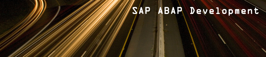 sap abap development
